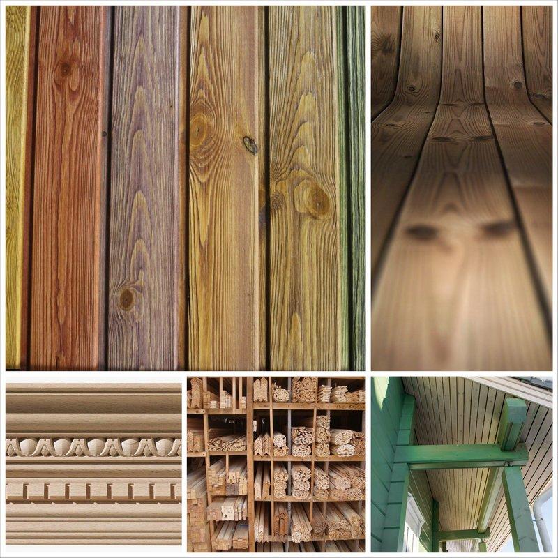 Деревянный погонаж - многогранный иатериал