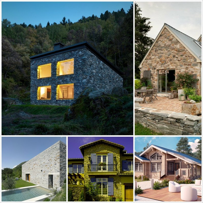Дом из камня или из дерева, какой лучше