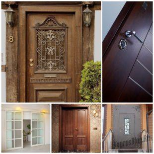 Виды дверей и их предназначение