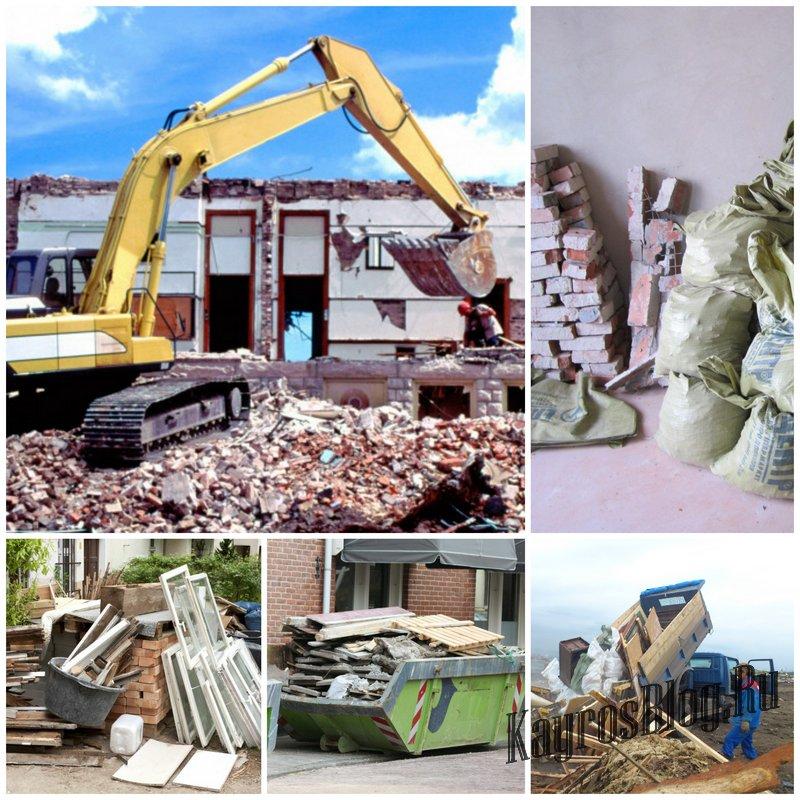 Как правильно вывозить строительный мусор