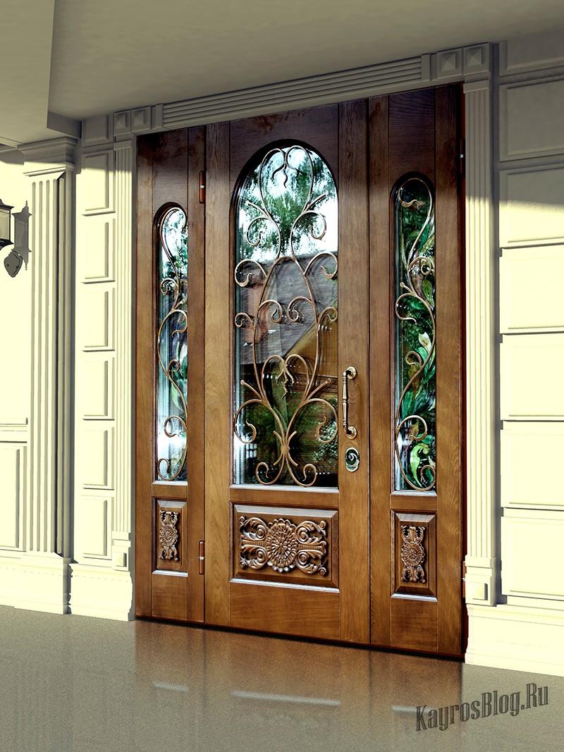 эксклюзивные двери входные металлические элитные для дома