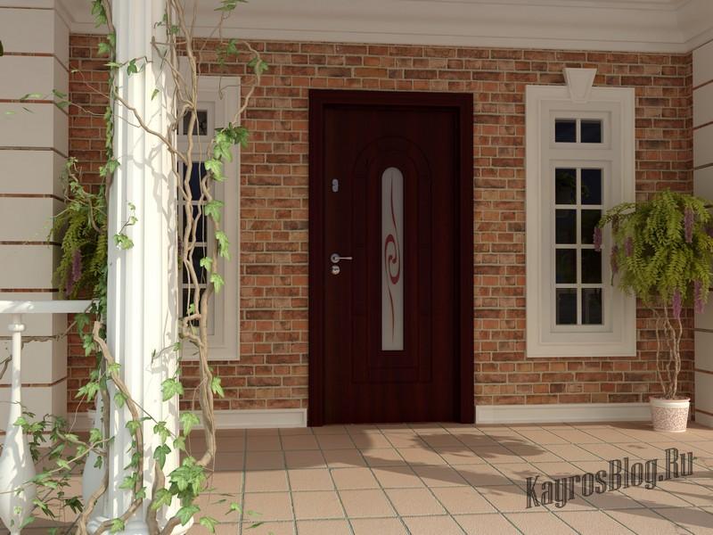 ширина входной двери коттеджа