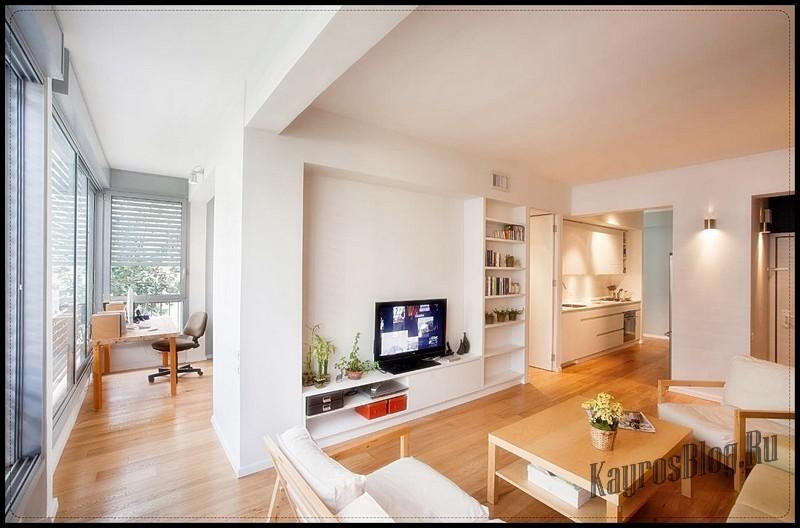 Дизайн двухкомнатные квартиры с балконом
