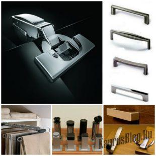 Необходимые комплектующие и фурнитура для производства мебели