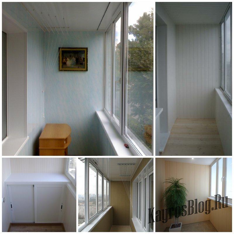 Отделка балконов панелями ПВХ - как правильно выбрать исполнителя
