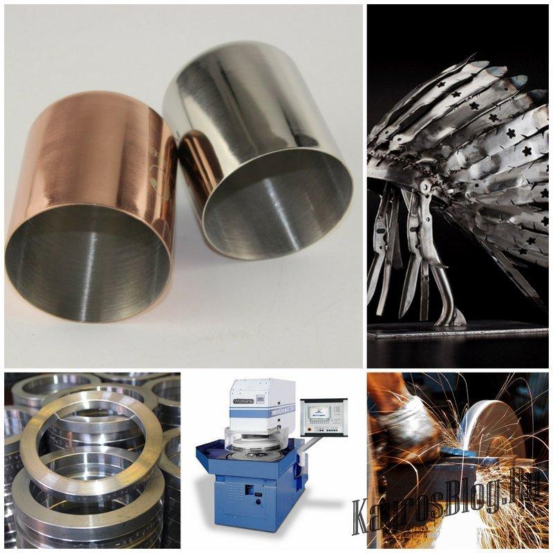 Отделочная обработка металлов
