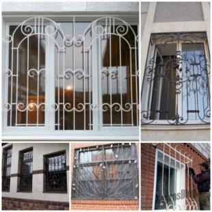 Решётки на окна - обезопасьте свой дом