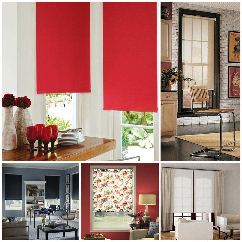 Рулонные шторы – практичные и красивые системы для любого интерьера
