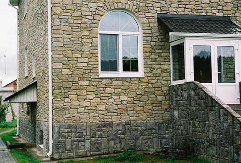 Виды натуральных и искусственных камней в архитектуре