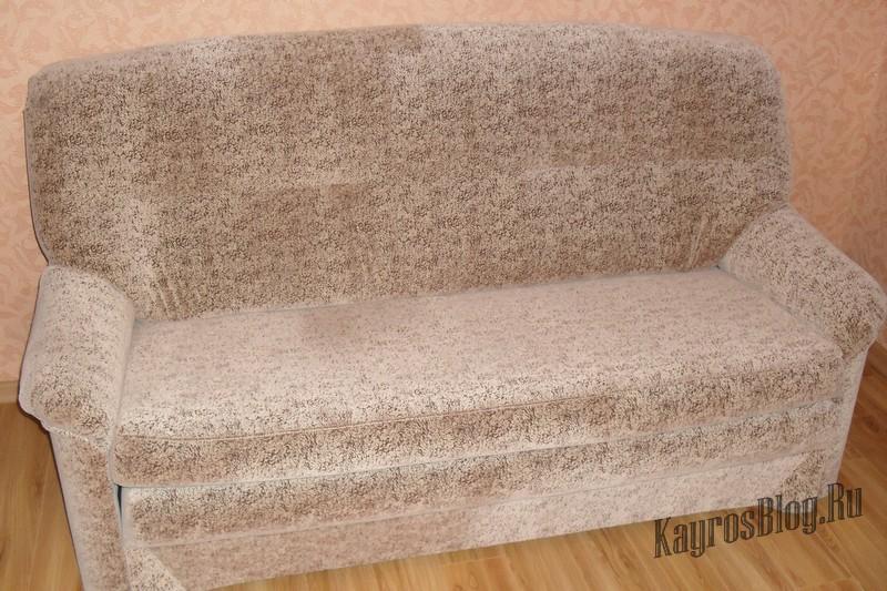 материал обивки диванов флок