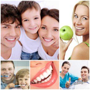 Белые и здоровые зубы - залог здоровья и красоты