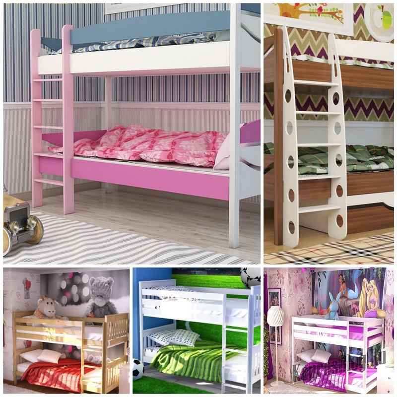 Детская двухъярусная кровать - комфорт и практичность