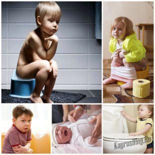 Диарея у детей - опасный недуг