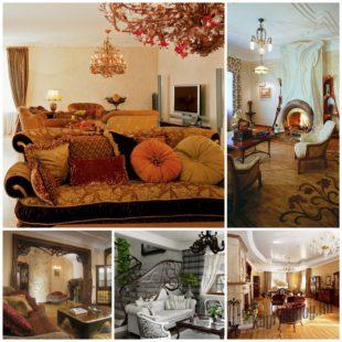 Гостиная в стиле модерн - красота и гармония в интерьере