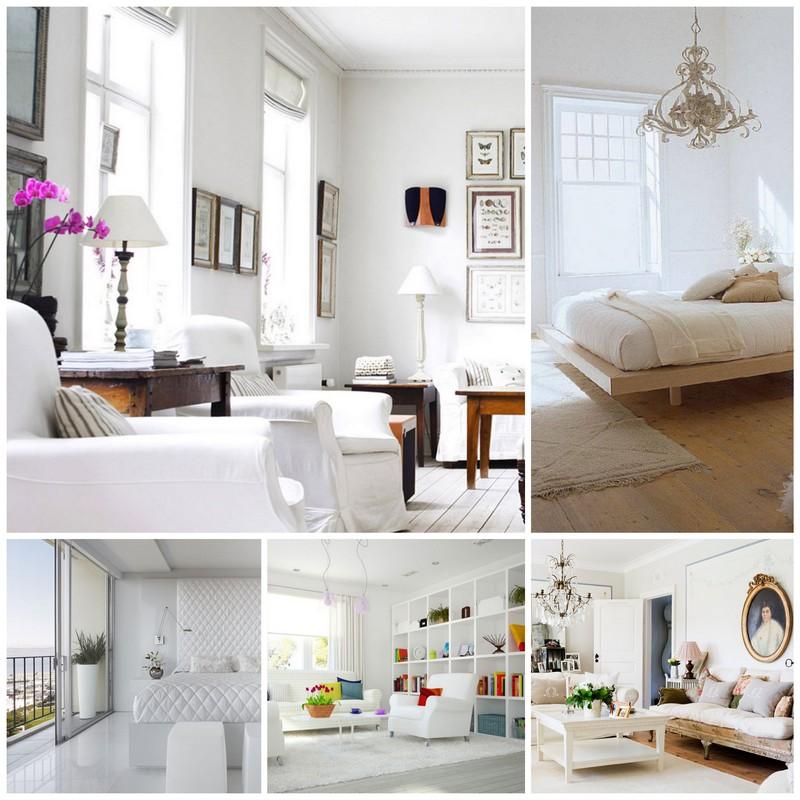 Как создать правильный интерьер в белом цвете?