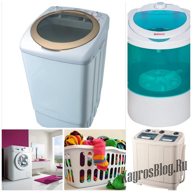 Почему многие решают купить полуавтоматическую стиральную машину