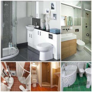 С чего начать ремонт малогабаритной ванной комнаты?