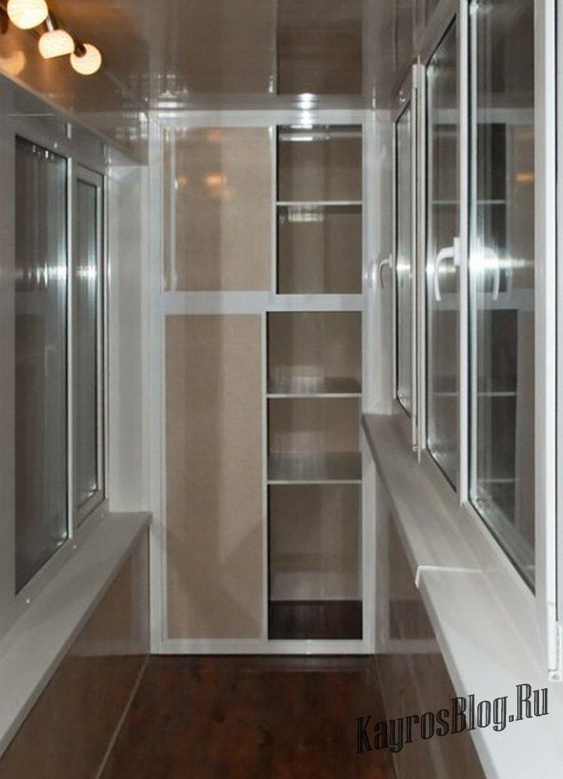 Встроенные шкафы на балкон - страница 2 - interior.