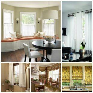 Шторы на окнах - удобный способ улучшить современный домашний декор