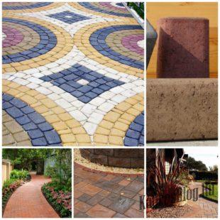 Садовая плитка для дачи, преимущества выбора