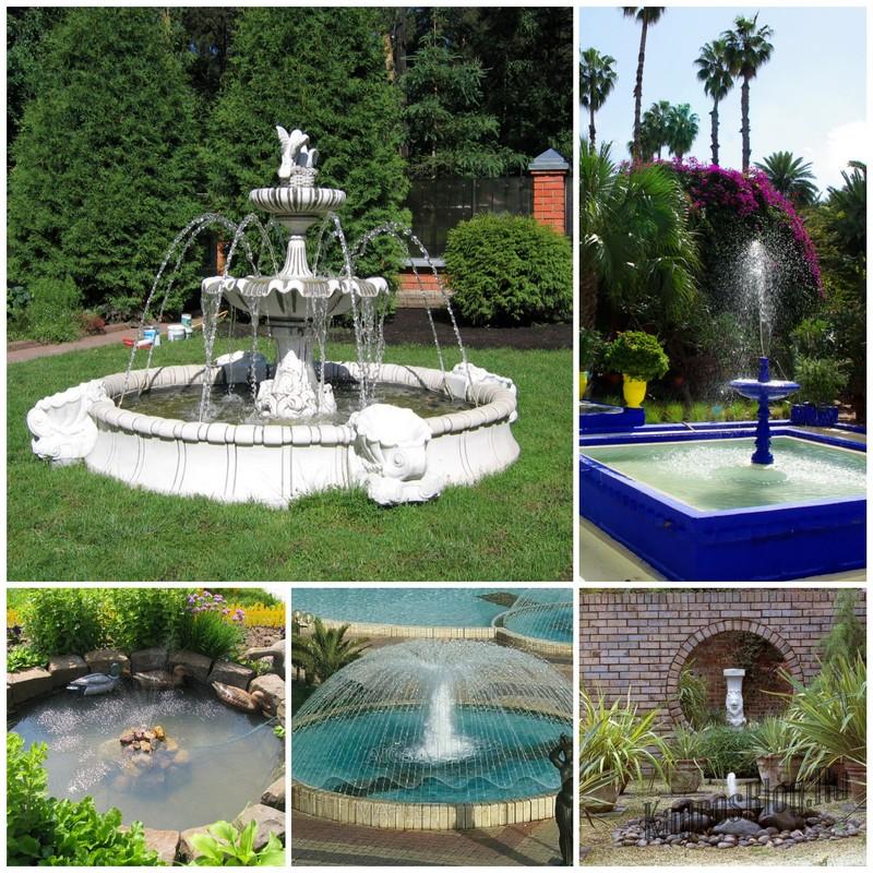 Стационарный фонтан основные этапы строительства