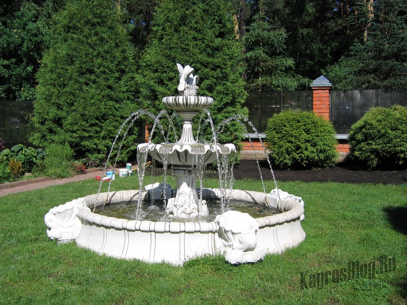 Выбор места для фонтана