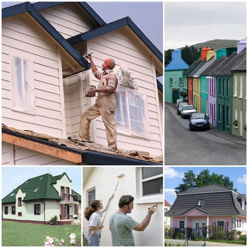 Вы решили перекрасить фасад деревянного дома?