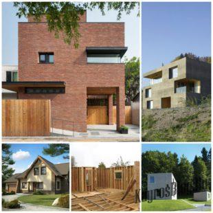 Из чего качественно и недорого построить дом