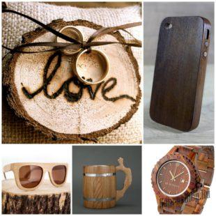 Подарки для мужа на пятилетнюю годовщину - деревянная свадьба