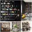 Разновидности стеллажей для книг
