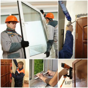 Ремонтируем двери и окна в квартире