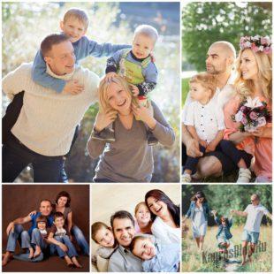 Семейная фотосессия: что надо знать?