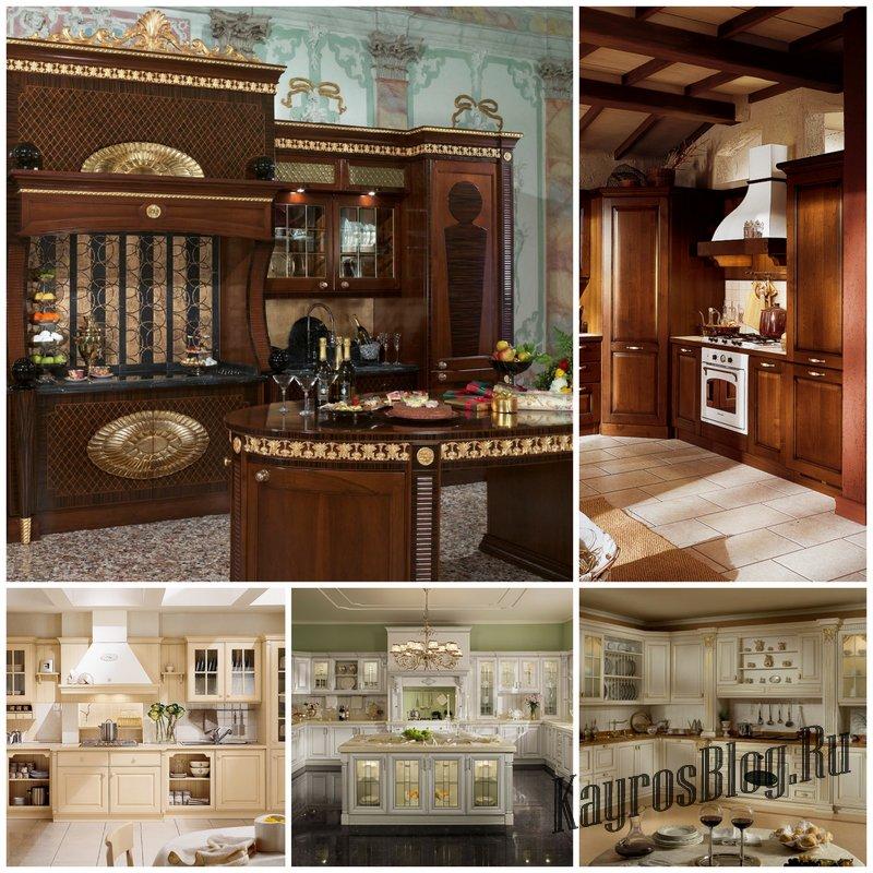 Кухни классические итальянские и их особенности