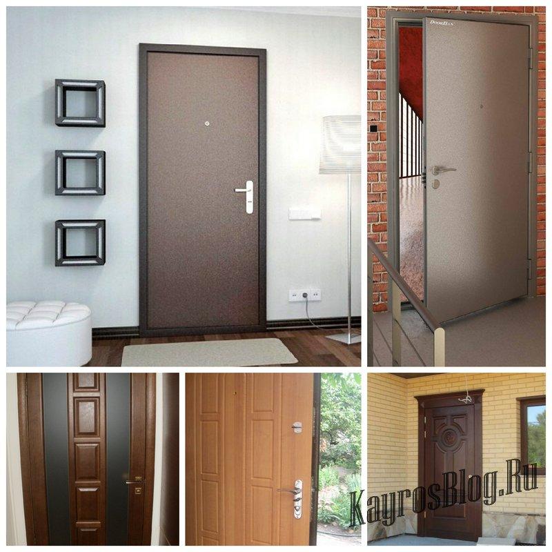 Металлические двери - виды конструкций и правила выбора