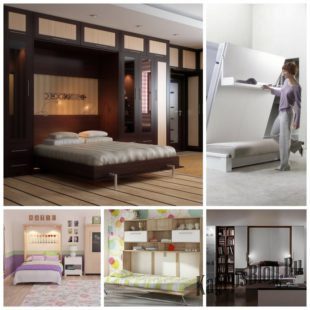 Откидная мебель в интерьере и её преимущества