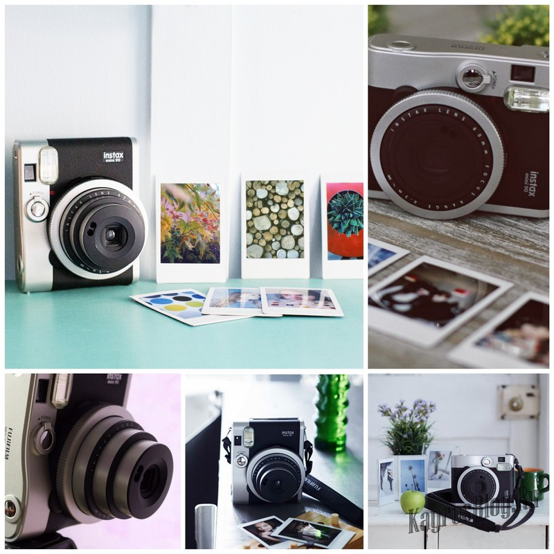 Ретро камера Fujifilm Instax Mini 90