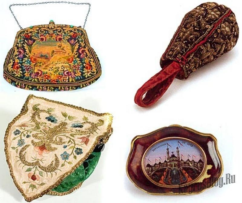 древние женские сумки