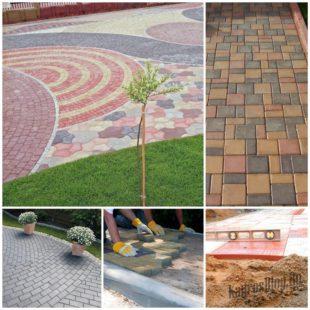 Как положить тротуарную плитку - советы профессионала