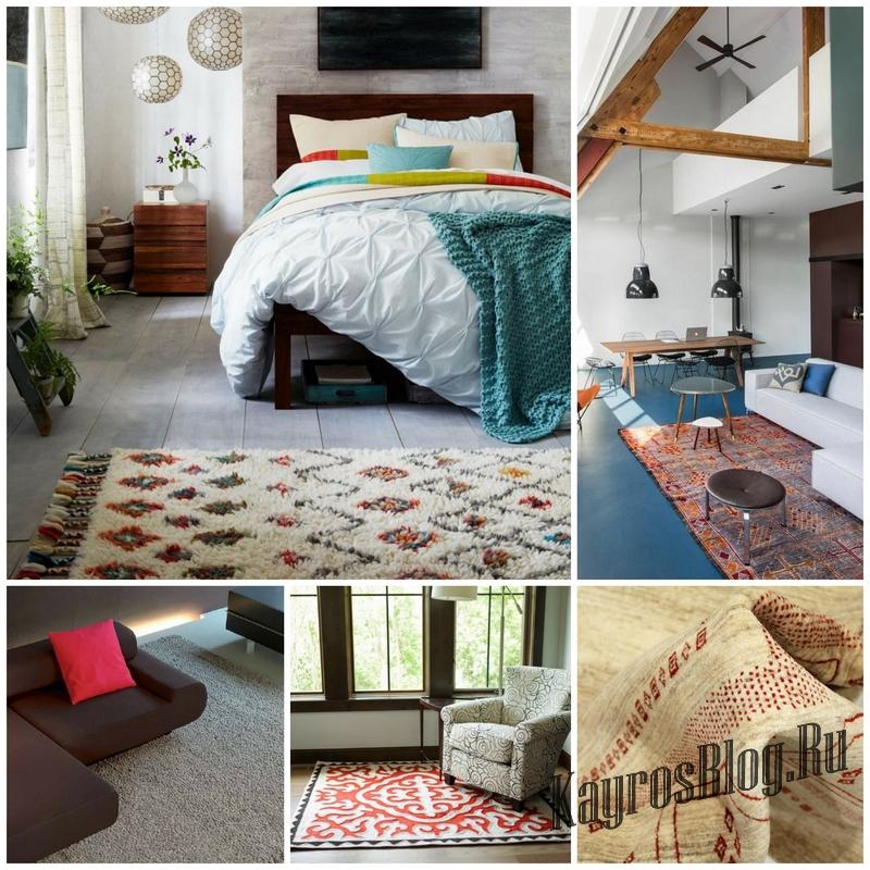 Шерстяные ковры для вашего дома