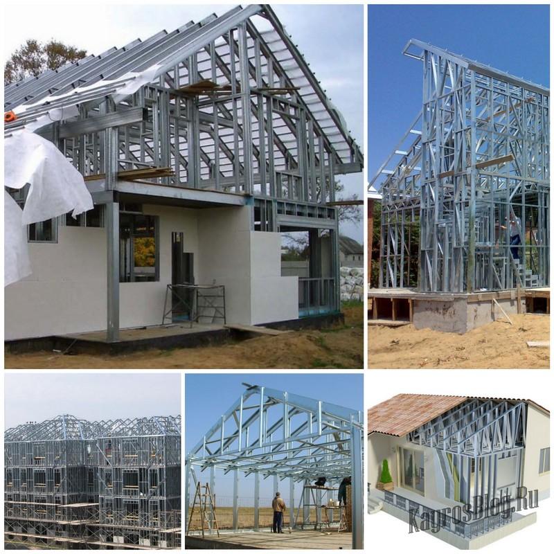 Строительство каркасного дома - современные технологии