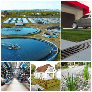 Классификация систем водоотведения или виды канализации