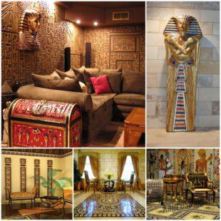 Египетский стиль в интерьере вашего дома