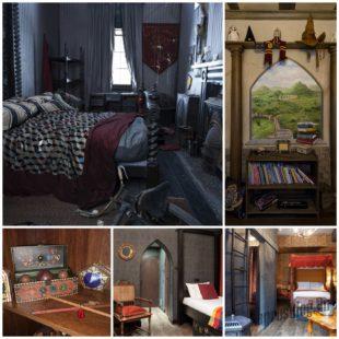 Интерьер детской комнаты для друзей Гарри Поттера