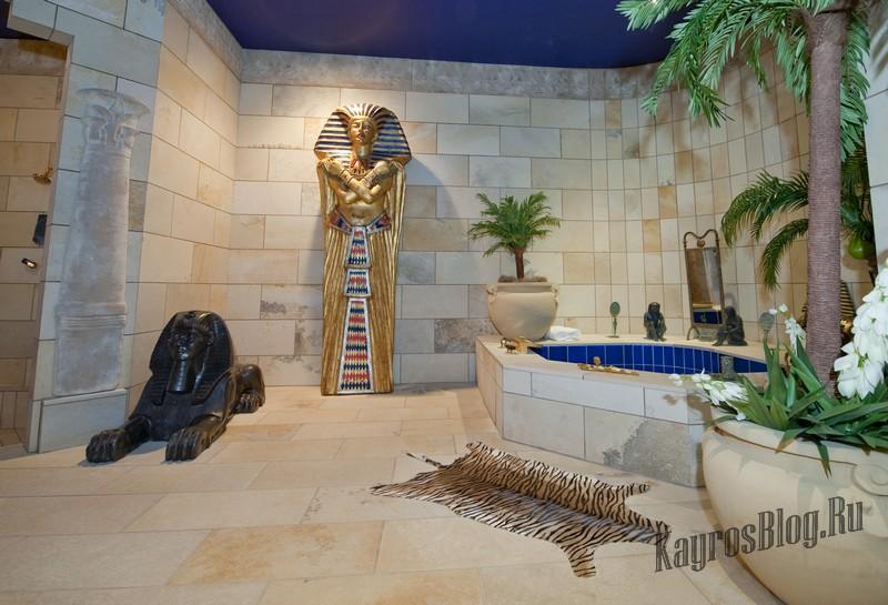 Интерьерные украшения в египетском стиле