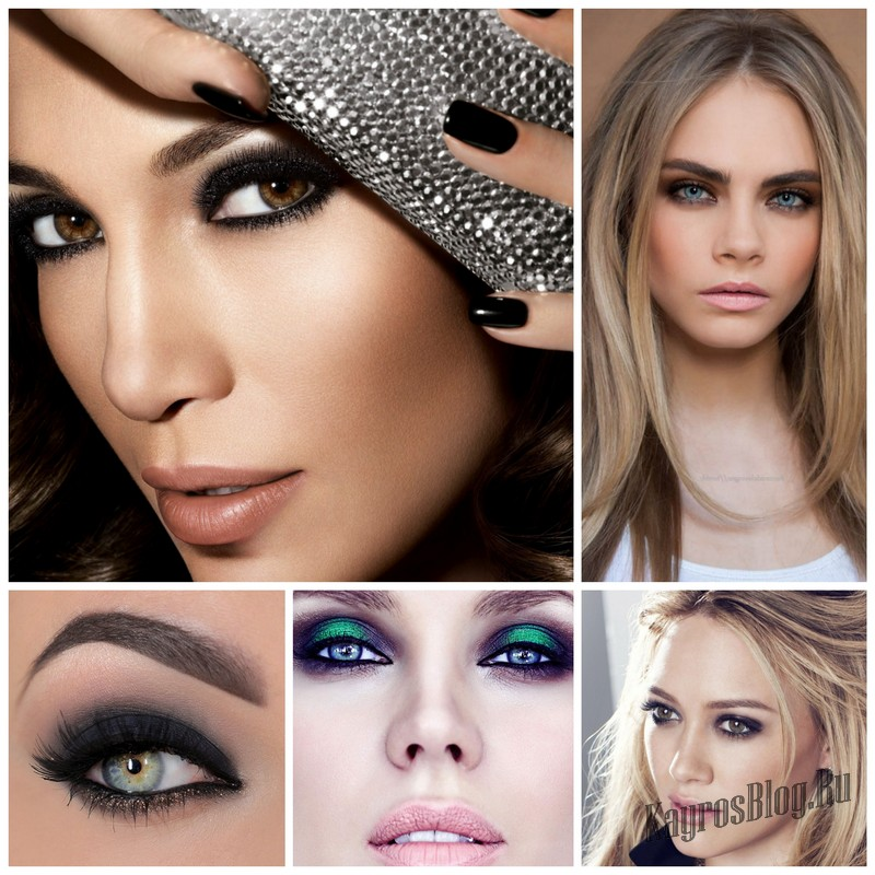 Как делать правильный макияж смоки айс