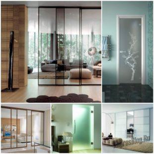 Стеклянные двери в интерьере - добавляем свет и расширяем пространство