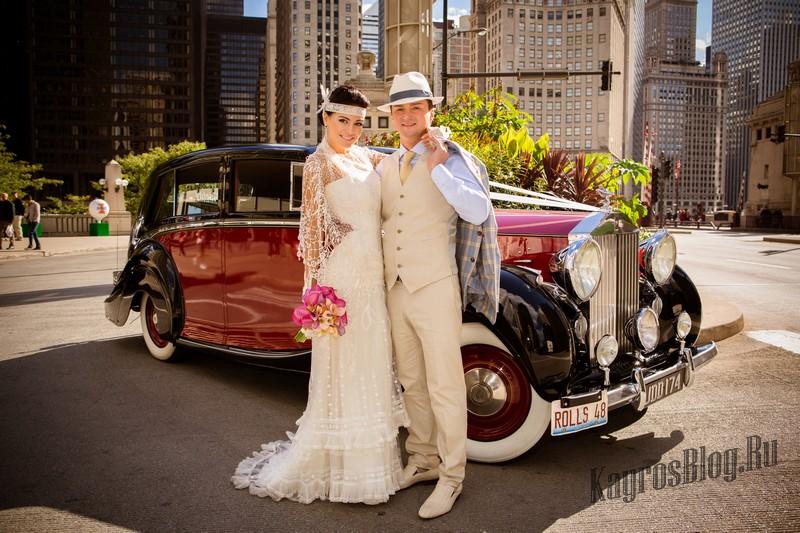 Свадьба в стиле гангстеров 30ых годов Чикаго