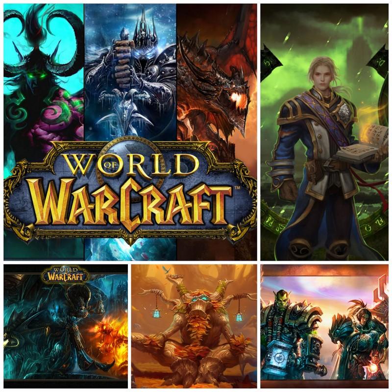World of Warcraft как одна из самых распространенных ММОРПГ в мире