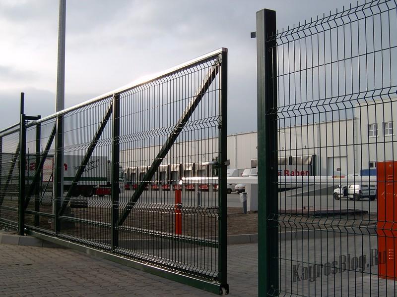 Заборы для промышленных объектов