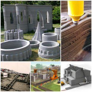Строительный 3D-принтер: дом твоей мечты за сутки
